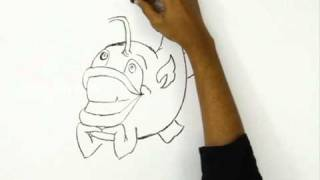 How to Draw Funny Fish