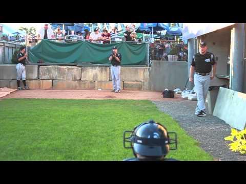 Brad Peacock (Syracuse @ Pawtucket 08-23-11)