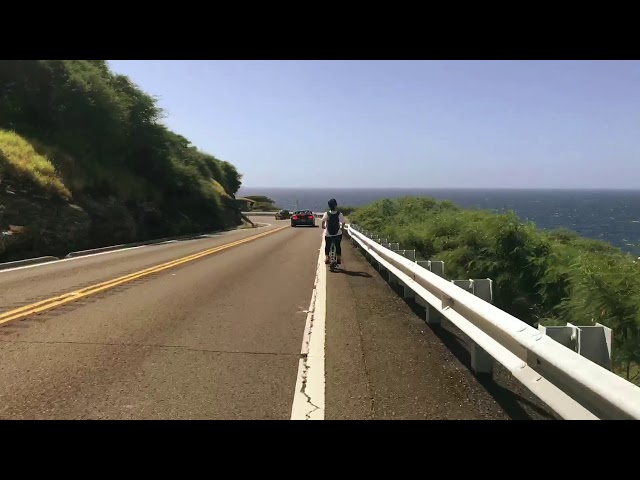 URB-E Hawaii - Hanauma Bay to Makapuu