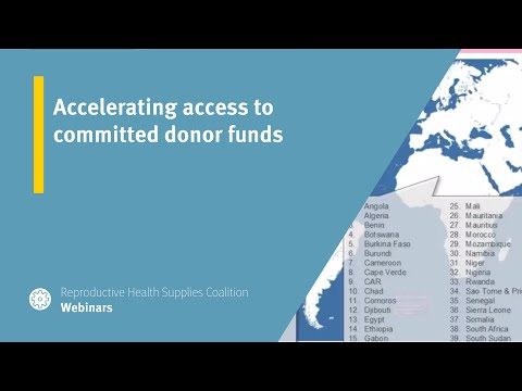 Accelerating access to committed donor funds