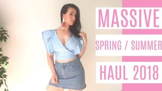 MASSIVE SPRING TRY ON HAUL | ASOS | WISH | SHOWPO & MORE!