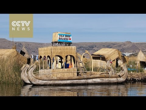 Island life: The Uru people of Peru live on artificial islands on Lake Titicaca