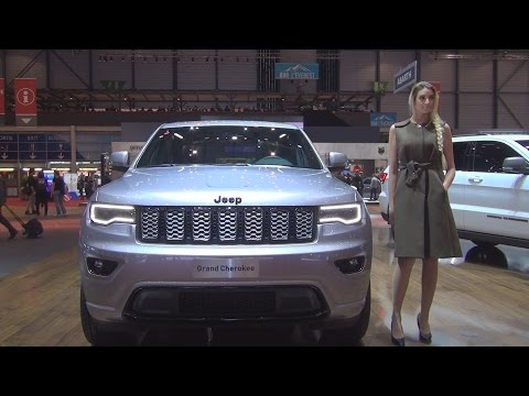 Jeep Grand Cherokee Night Eagle 4x4 (2017) Exterior and Interior in 3D