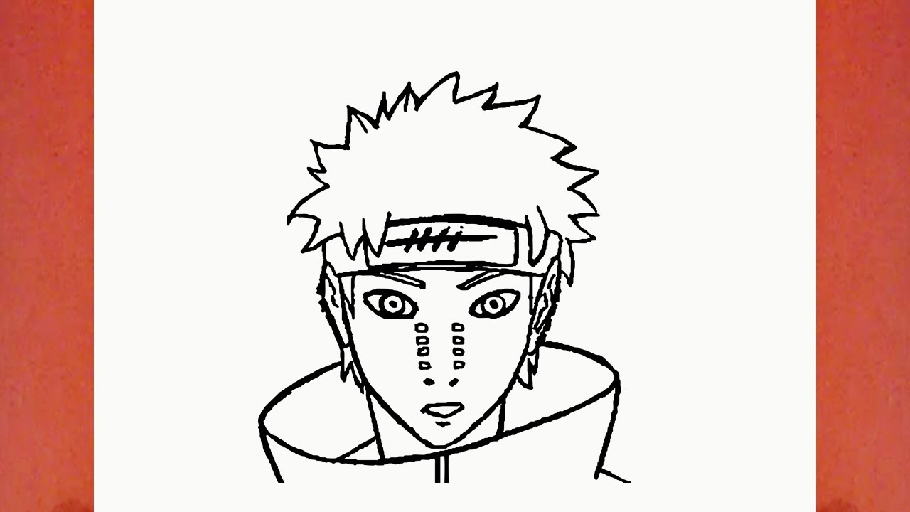 Comment Dessiner Pain De Naruto Youtube