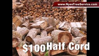 Utah Firewood for Sale - Nyes Tree Service 801-710-0992