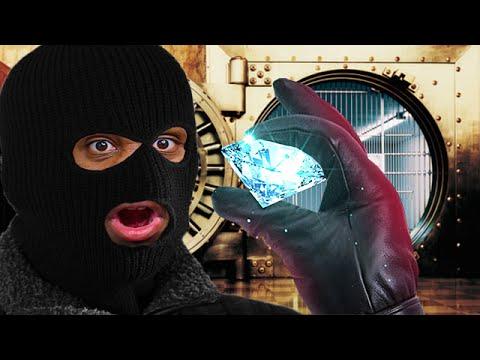 STEALING THE DIAMOND! | Sneak Thief #4
