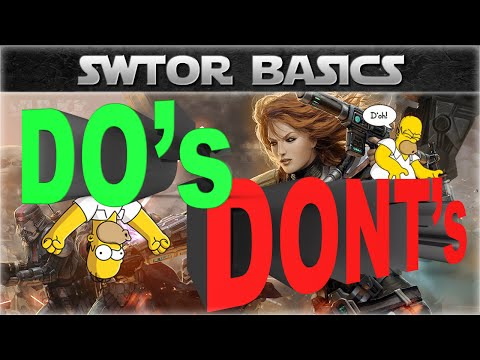 SWTOR Basics: The DOs and DONTs for Beginners (Leveling Tips)
