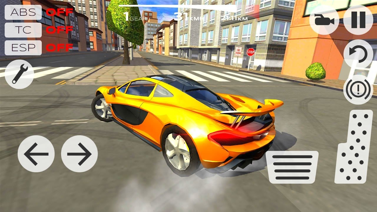 driving simulator extreme games racing game android apk mod play unlimited money traffic description graphics