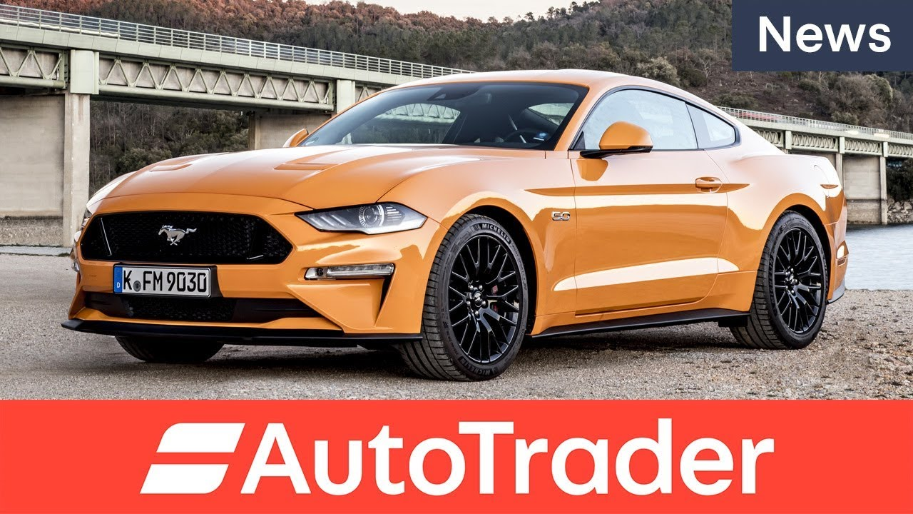 Say hello to the 2018 ford mustang