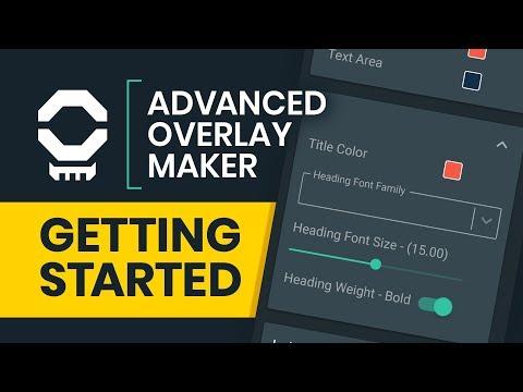 Create Your Own Custom Overlays - Advanced Overlay Maker Tutorial