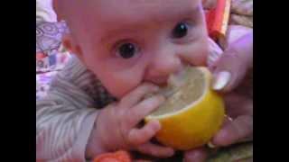 а я люблю лимон....