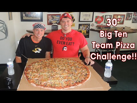 UNDEFEATED 13LB PIZZA CHALLENGE!! (HW #8)