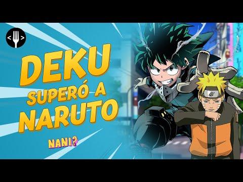 Deku de My Hero Academia es mucho mejor que Naruto... acéptalo | NANI?!