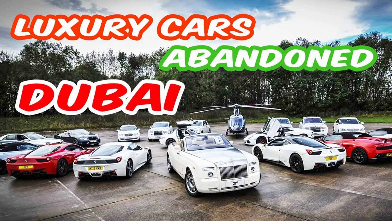 Latest Luxury Cars Abandoned In Dubai Forgotten Deserted