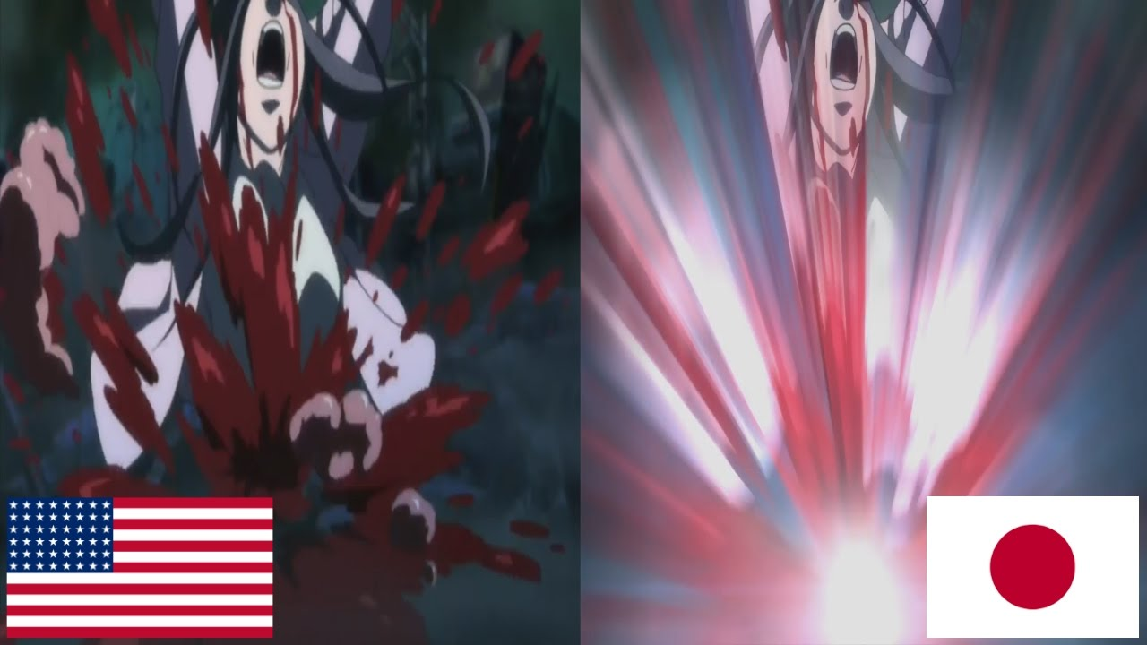 English Uncensored Japan Censored Shin Megami Tensei Iv Apocalypse Youtube