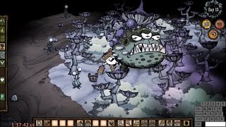 DST Toadstool Solo Speedrun Kill on Day 13 in 1:37:46 (original unnerfed Don't Starve Together boss)