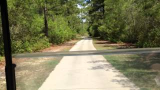 Brazell's Creek Golf Course Wooden Bridge
