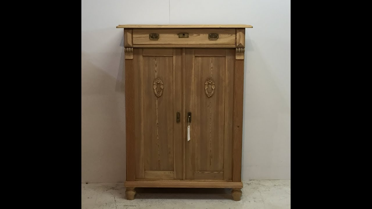 Antique Pine Linen Cupboard with Top Drawer for sale - Pinefinders Old Pine  Furniture Warehouse - Antique Pine Linen Cupboard With Top Drawer For Sale - Pinefinders