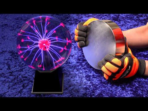 Monster magnet meets plasma ball...