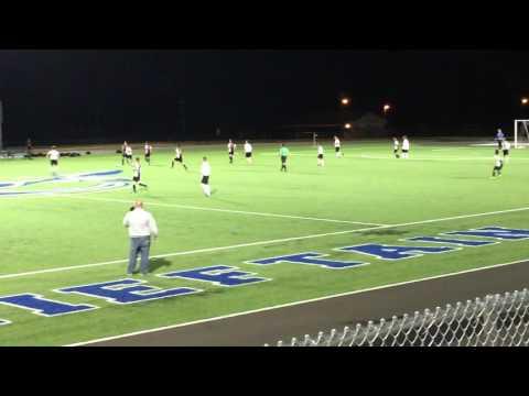 Sapulpa vs Sand Springs Boys Soccer - 4/19/16 2nd Half