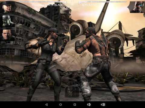 Sonya Blade vs. Kano/Sonya's Fatality (Mobile)