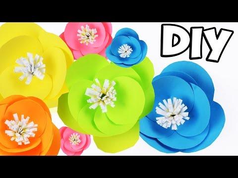 Цветы Из Бумаги (Оригами)