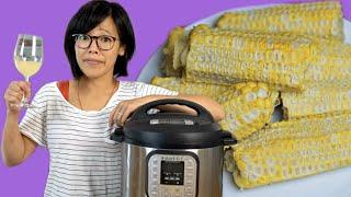 🌽Instant Pot CORN COB WINE - homemade corn wine? | FERMENTED