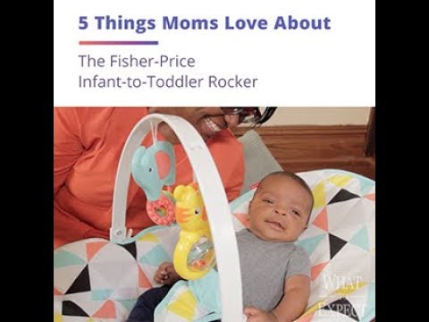 5 Things Moms Love About The Fisher-Price Infant-to-Toddler Rocker