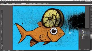 Using And Applying Vector Textures In Illustrator