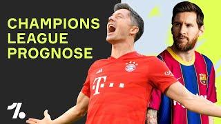 Champions League Prognose: Schafft der FC Bayern das Triple?