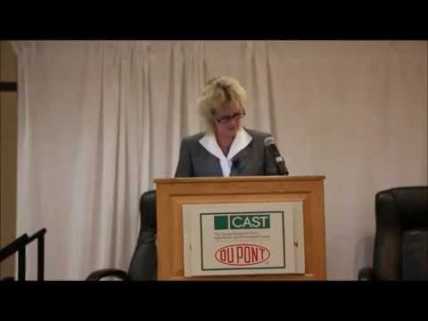 Alison Van Eenennaam 2014 BCCA event