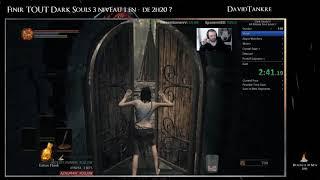 Speedrun Dark Souls 3 All bosses niveau 1 par DavidTankre (moins de 2h20 sans Glitch)