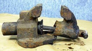 НЕ ВЫБРАСЫВАЙТЕ СЛОМАННЫЕ ТИСКИ / Broken Vise Restoration