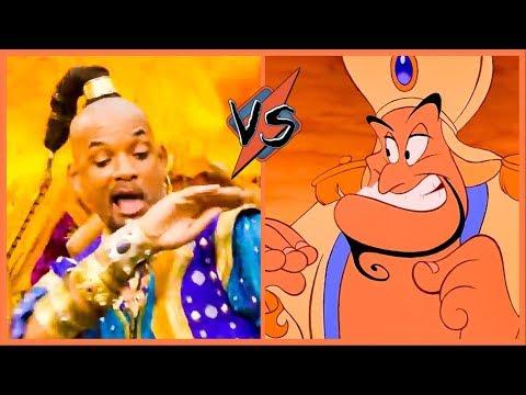 Aladdin 'Prince Ali' Song Comparison (Which Is Better?) 2019 Disney HD