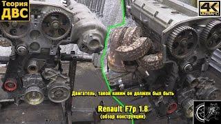 Двигатель, такой каким он должен был быть: Renault F7p 1.8 (обзор конструкции)