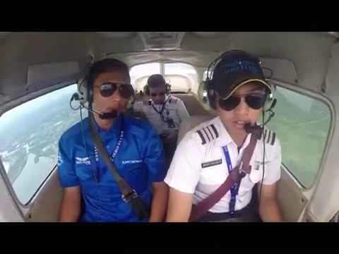Pilot School AERO FLYER, Training with instructor Bengkulu