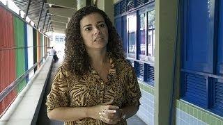 """Ana Isabel Cabral: """"A Copa já agravou em mais de 160% a exploração sexual de crianças"""" - reporter"""