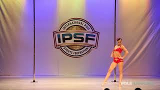 Alessandra Rancan - IPSF World Pole Championships 2018