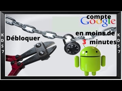 d bloquer un compte google sous android en moins de 3 minutes youtube. Black Bedroom Furniture Sets. Home Design Ideas