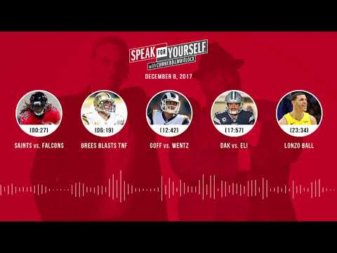 SPEAK FOR YOURSELF Audio Podcast (12.8.17) with Colin Cowherd, Jason Whitlock | SPEAK FOR YOURSELF