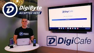 DigiCafe - Now Serving You! Point of Sale App for The DigiByte Blockchain