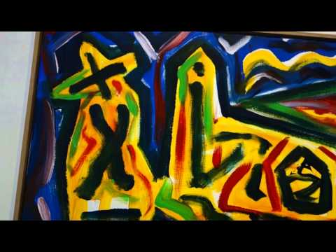 A.R. Penck New Paintings At MICHAEL WERNER