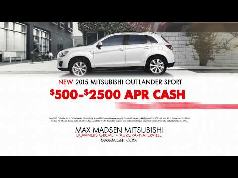 0% APR Factory Financing | Max Madsen Mitsubishi