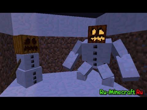 Как сделать в майнкрафте снеговика мутанта фото 129