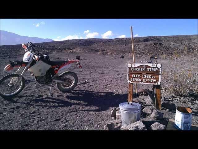 CHICKEN STRIP Airstrip, Death Valley Saline Warm Springs