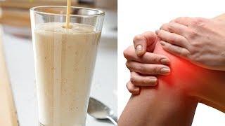 Hafer, Zimt und Ananas Smoothie zur Stärkung deiner Kniesehnen und Bänder!