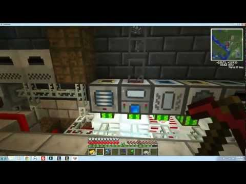 D-Day Gaming Tekkit Lite Quarry and Redpower Energy Cell