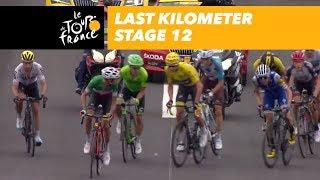 Last kilometer - Stage 12 - Tour de France 2017
