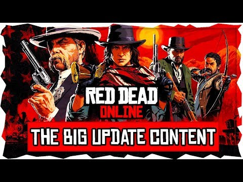Red Dead Online New Update Content - LeMat Revolver, Poker, New Emotes, All Clothing & Outfits!!!