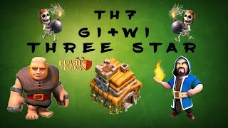 Clash Of Clans - TH7 THREE STAR ATTACK STRATEGY | GIANTS + WIZARDS (GIWI) | EXPLAINED IN DEPTH